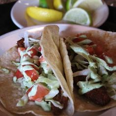 Tilapia Taco Tuesday at Scott's Seafood.