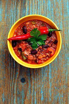 Turkey Chili - low glycemic index Hypoglycemic Recipe