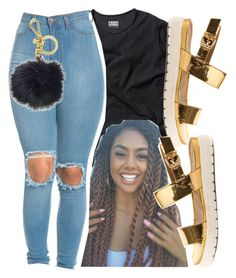 """""""Can I Be A Trendsetter?"""" by prnxcessbarbiedolll ❤ liked on Polyvore featuring GURU, Michael Kors and ALDO"""