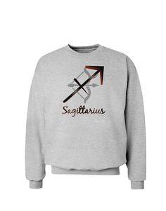 TooLoud Sagittarius Symbol Sweatshirt