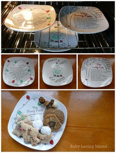 Joann crafts- The giving plate & Picklehead Soup: Let them MAKE PLATES! How to make a GIVING plate ...