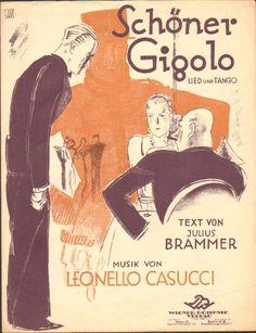 Schoner gigolo  Cover art Otto Dely