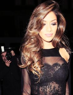 loose waves | nicole scherzinger love her hair and make up