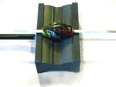 The Mother Board Graphite Raised Work Glass Lampwork 12