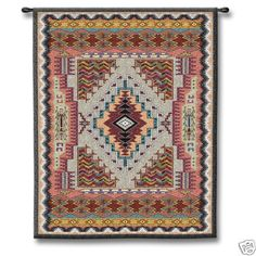 Native American Indian Pattern Wall Hanging Tapestry | eBay