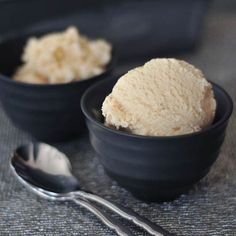 ginger maple miso ice cream