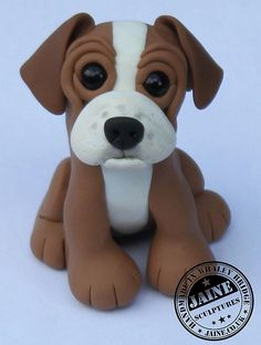 *POLYMER CLAY ~ Puppy                                                                                                                                                                                 More