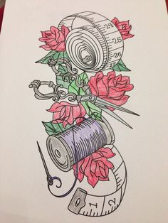 Urban threads sewing sleeve as old school Tattoo?