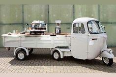 la Vespa café  marque italienne
