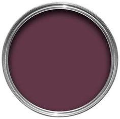Wonderful Colours Exterior Dark Plum Gloss Wood U0026 Metal Paint 750ml