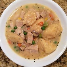 "Chicken Thigh and Dumpling Stew I ""This was by far the BEST chicken and dumplings I've had."""