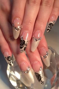 Acrylic French Manicure Ideas and Trends - The new season is bringing glam nail art designs into attention, so if you're ready to give your nails a boost of style, check out these insane acrylic French manicure designs and make the best out of your mani by recreating and reinventing your favorite motifs!