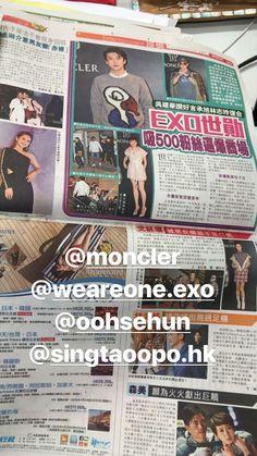 #Sehun #Moncler #EXO
