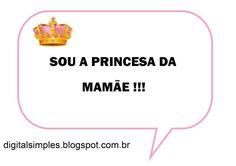 Kit Digital Coroa de Princesa Rosa gratuito para você fazer imprimir e fazer a festa.