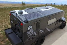 EARTHROAMER with Solar Panels - posted ON Facebook. Lots of (EO)2 opportunities here...