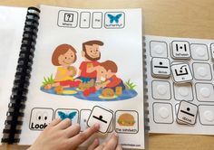 Where is the Butterfly? and Free Preposition Scene Matching Activity! - The Autism Helper