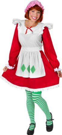 Disguise Womens Strawberry Shortcake Adult Costume Knee-Highs