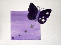 Bild mit Schmetterling basteln