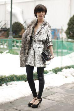 Street Style: Irina Lazareanu | The Front Row View