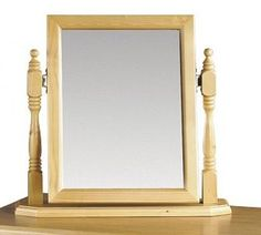Show more information on Pickwick Dressing Table Mirror