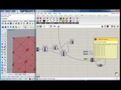Grasshopper - Parametric Tower 11 - Facade - Sun Responsive Triangulation - YouTube
