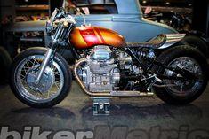 moto guzzi 850 t5 cafe racer from italy | mandello raw power
