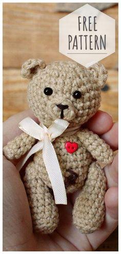 Mesmerizing Crochet an Amigurumi Rabbit Ideas. Lovely Crochet an Amigurumi Rabbit Ideas. Teddy Bear Patterns Free, Crochet Teddy Bear Pattern, Baby Afghan Crochet, Crochet Patterns, Easy Crochet Projects, Crochet Crafts, Crochet Dolls, Amigurumi Animals, Amigurumi Doll