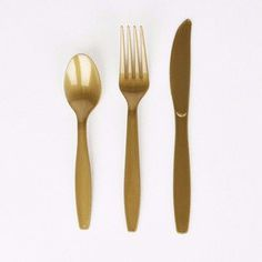 Gold Cutlery Set (24 pieces)