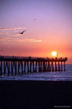 Sunset - Hermosa Beach, California