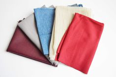 x5 Assorted Fabric Remnants, fabric offcuts, fabric swatches, fabric bundle