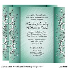 Elegant Jade Wedding