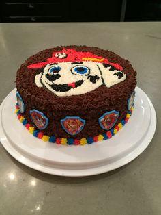 Marshall paw patrol birthday cake