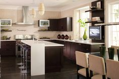 An Open Plan - contemporary - Kitchen - Detroit - Caden Design Group