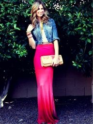 """Cute outfit minus the Pink Maxi Skirt...maybe a chevron or black skirt :)"""" data-componentType=""""MODAL_PIN"""