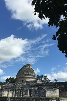 Our certified Tour guides will tell you all about the observatory in Chichen Itza. Xichen Tours.