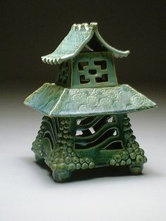 A good birdhouse or lantern form.