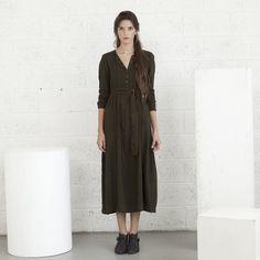 Autumn fashionMaxi dressBohemian dress by naftul on Etsy, $120.00