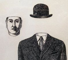 Bowler Hat 1960 by Rene Magritte - Lithograph