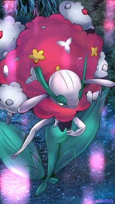 My florges, Sweetwind. Yes, she finally evolved! Found out u needed a shiny stone so boo hoo on me for not knowing. But finally she is a florges and she's still Level 100 C:
