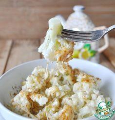 Цветная капуста в пикантной заливке - кулинарный рецепт