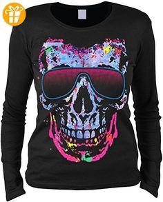 modisches Damenshirt mit Neon Motiv Geschenkidee Geschenk Geburtstag Weihnachten Mama Gr: L (*Partner-Link)