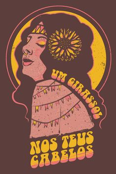 Art Vampire, Arte Latina, Posters Vintage, Sunflower Art, Cute Patterns Wallpaper, Rock Posters, Arte Popular, Indie Kids, Illustrations And Posters