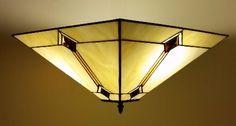 Orlando Tiffany Semi-Flush Ceiling Light