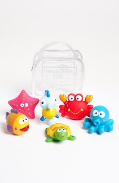 Elegant Baby Squirtie Bath Set (Set of 8) available at #Nordstrom