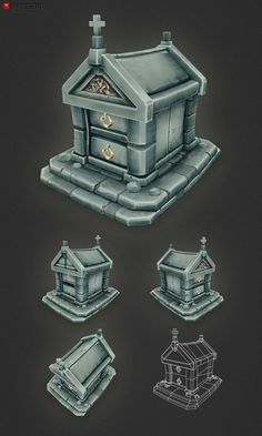 Low Poly Tomb