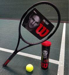 Roger Federer's Wilson Tennis Pro Staff RF 85.