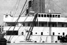 Front Windows Of The Titanic's Bridge