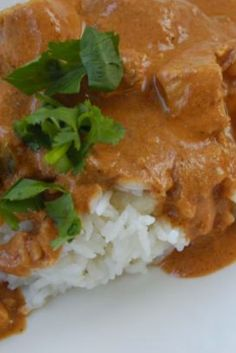 Chicken Tikka Masala   It's just like the Chicken Tikka Masala at my favorite Indian restaurant, and that's a first.