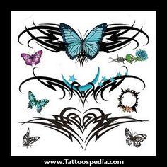 Tribal Lower Back Tattoos For Women