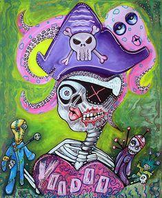 Pirate Voodoo by Laura Barbosa